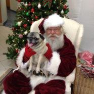 Rudy with Peri and Santa